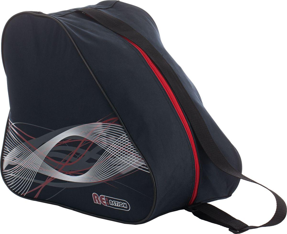 """Сумка для роликов Reaction """"Bag To Carry Inline Skates"""", цвет: черный, красный"""