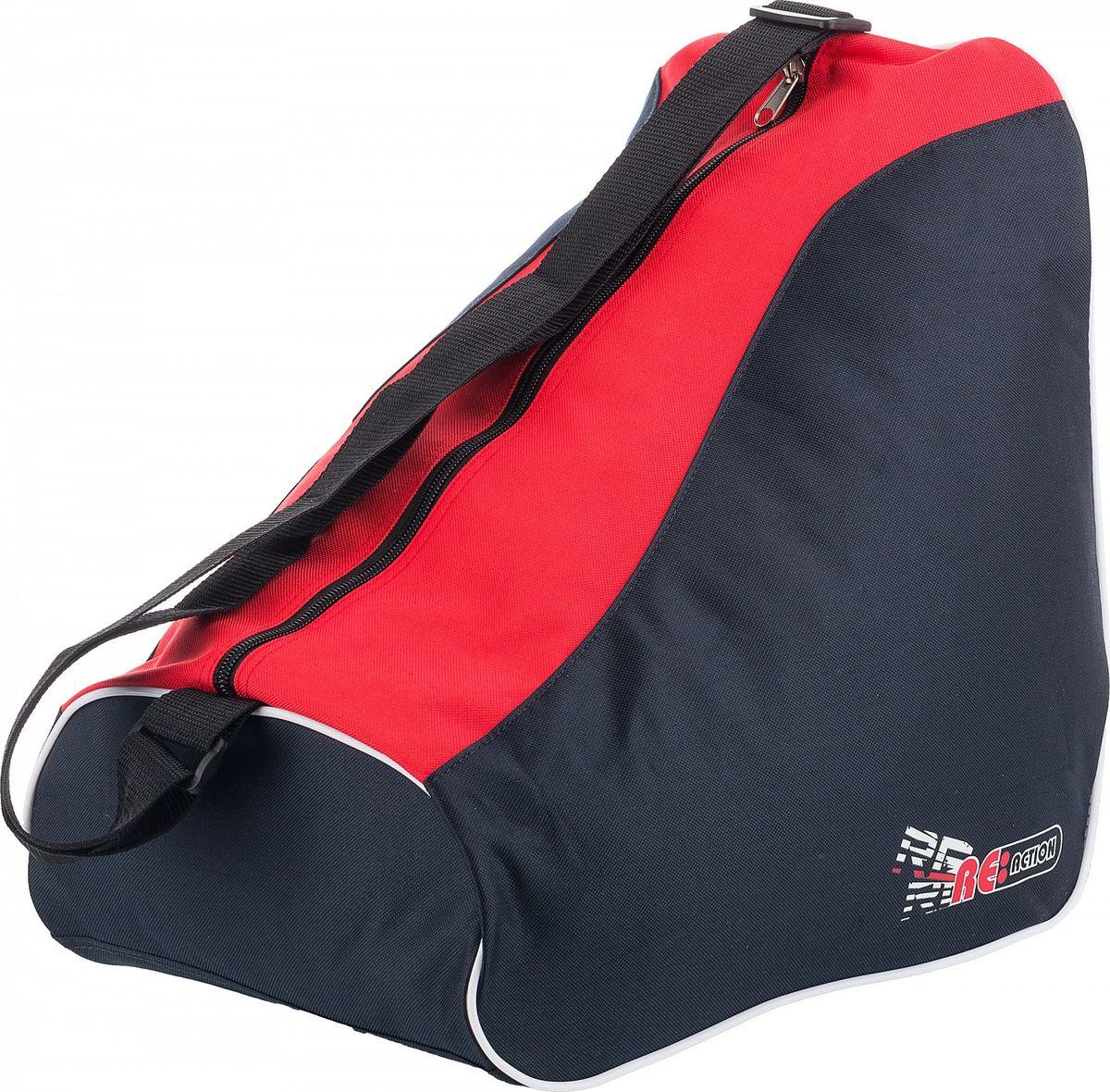 """Сумка для роликов Reaction """"Kid's Carry Bag For Inline Skates"""", детская, цвет: черный, красный"""