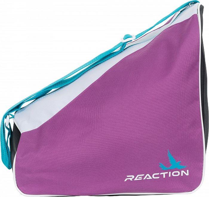 Сумка для роликов Reaction Kid's Carry Bag For Inline Skates, детская, цвет: розовый, серый professionales road show rx4 roller skates four wheel skates inline skates ice hockey skates for adulto
