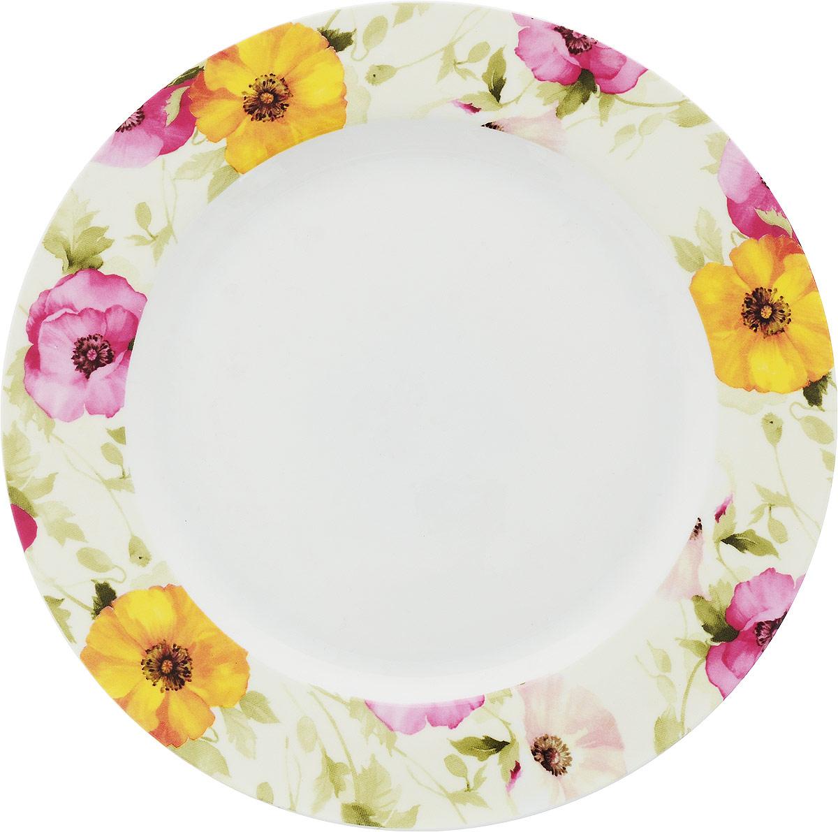 Тарелка обеденная МФК-профит Дели, 27 см эффективный дели 70653 может быть большой емкость стиральным вдоль цвета маркеров 18