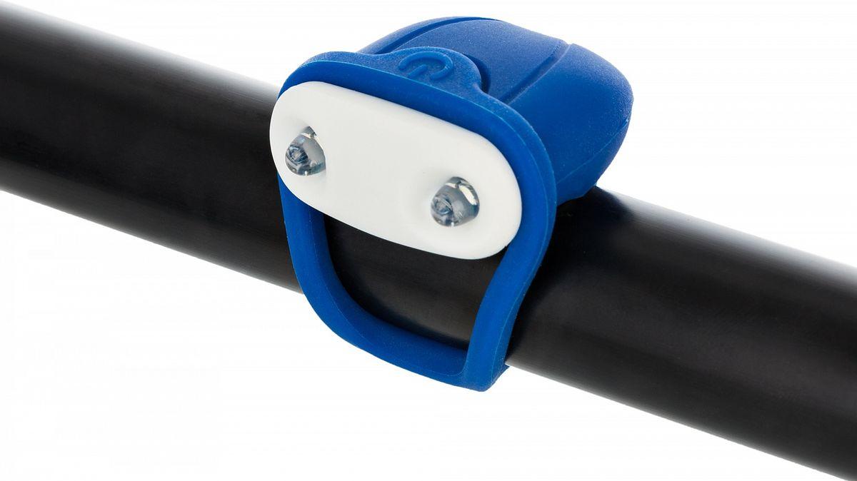 Передний габаритный фонарь позволит стать заметнее на дороге и сделает поездку на велосипеде безопаснее. Особенности модели:количество светодиодов: 2; количество режимов работы: 2; фонарь легко крепится и снимаетсяустойчив к влаге.