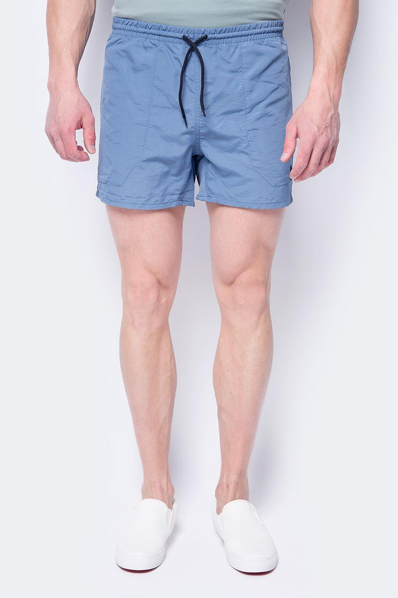 Шорты мужские Only & Sons, цвет: синий. 22008688. Размер M (48) шорты мужские dc shoes цвет синий edybs03073 blv0 размер 32 48
