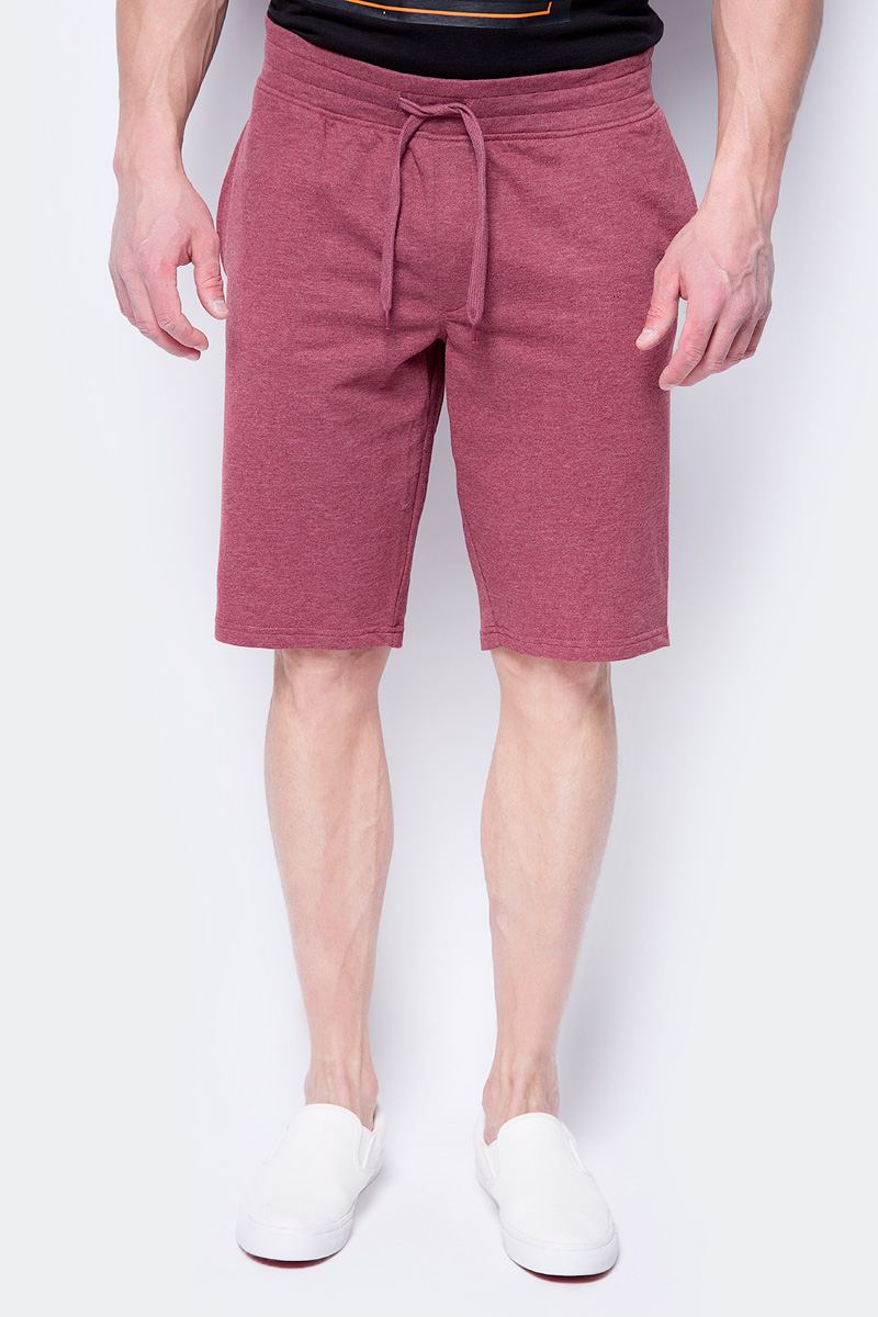 Шорты мужские Jack & Jones, цвет: бордовый. 12130001. Размер XL (52)12130001