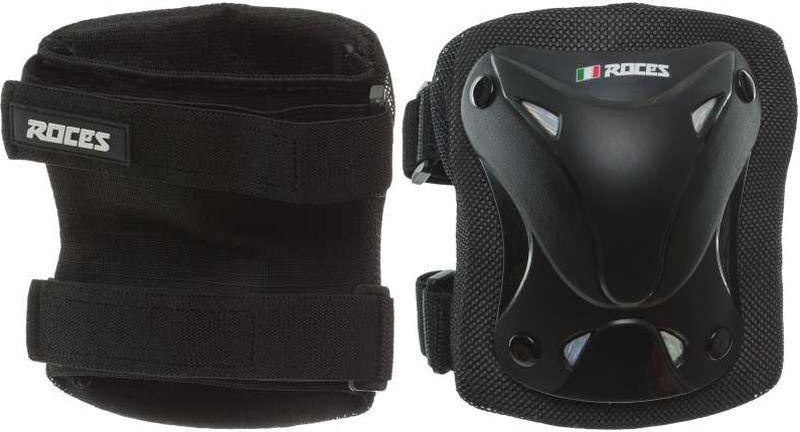 Наколенники Roces Knee Protection Kit, цвет: черный. Размер S roces виды спорта