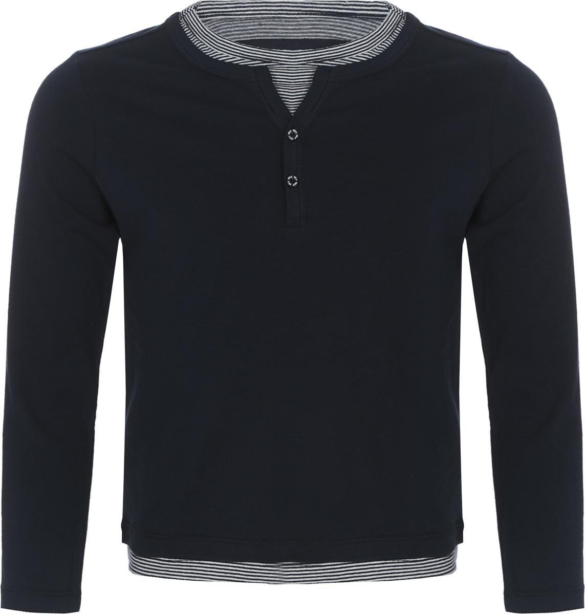 Джемпер для мальчика Sela, цвет: темно-синий. T-711/585-8132. Размер 116, 6 лет цена