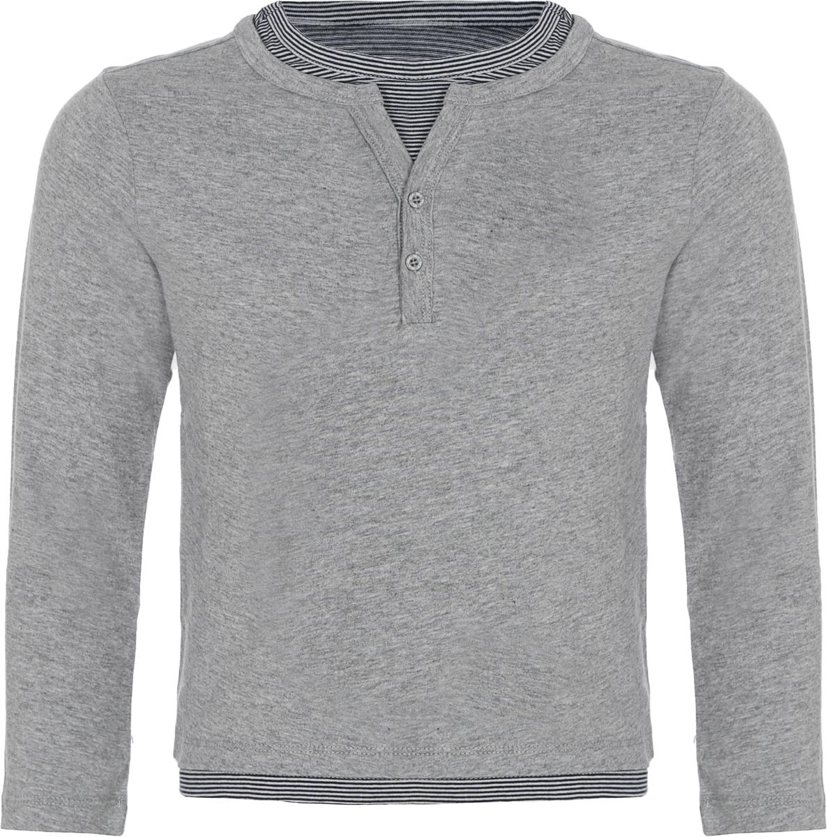 Джемпер для мальчика Sela, цвет: серый. T-711/585-8132. Размер 116, 6 лет футболка для мальчика котмаркот цвет серый 14946 размер 116 6 лет