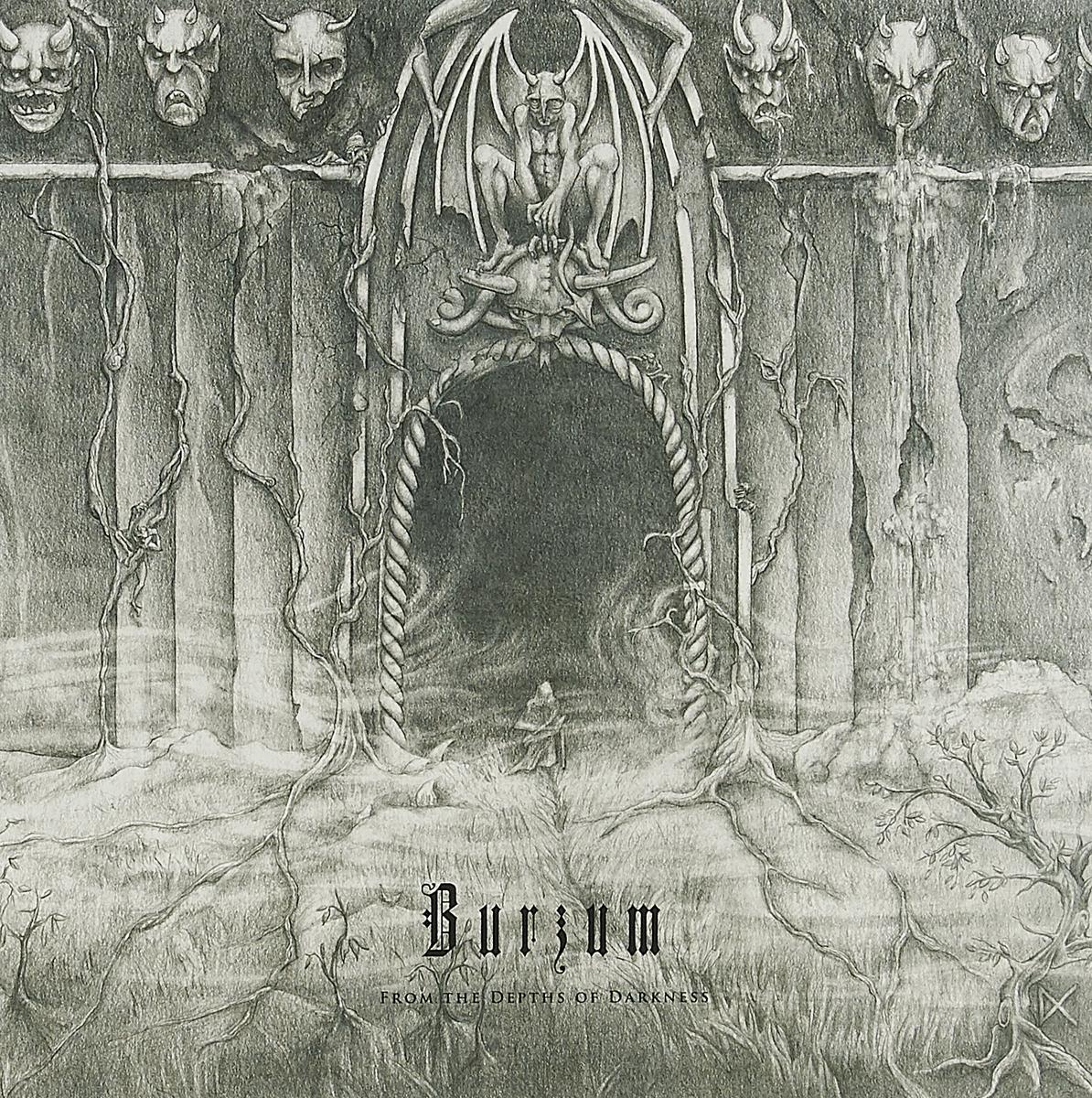 Фото - Burzum Burzum. From The Depths Of Darkness (2 LP) burzum burzum anthology 2 lp