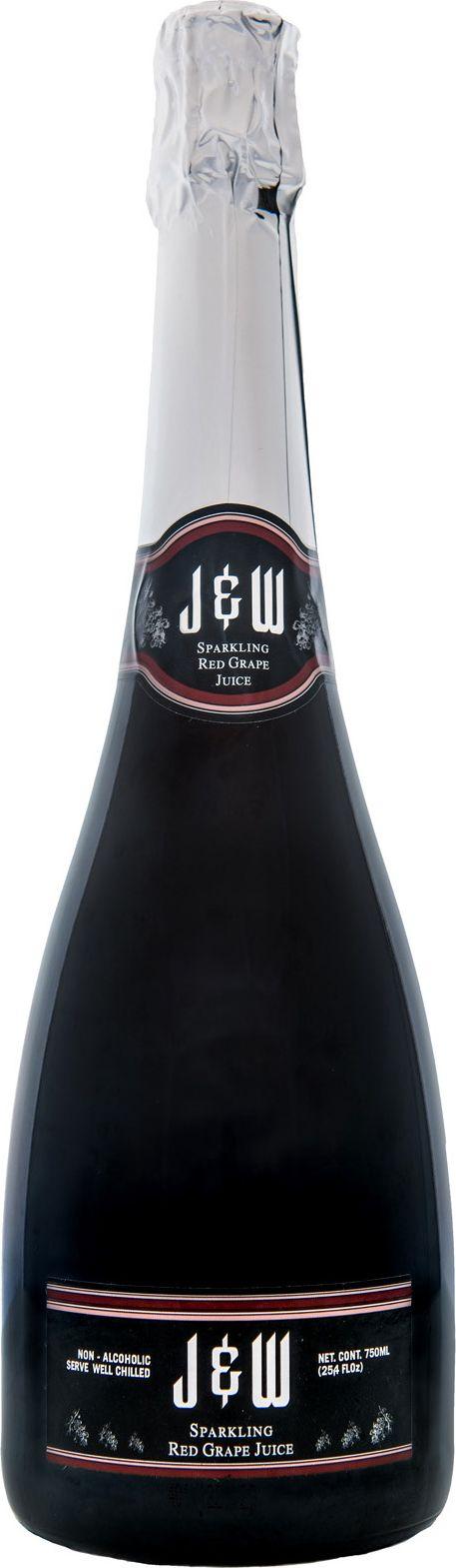 J&W Вино игристое красное безалкогольное, 0,75 л registration