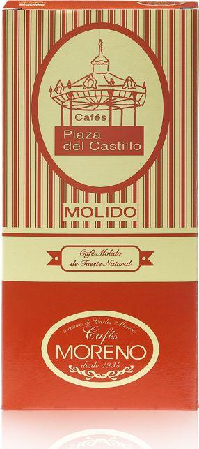 Cafes Plaza del Castillo Кофе молотый, 250 г (100% натуральная обжарка)8437001647002100% натуральный кофе с характерным вкусом и ароматом высшего качества, достигающий невероятного баланса в чашке.Компания является семейным бизнесом.История компании начинается в 1934 году, когда семья МОРЕНО открыла свой первый кофе-центр в самом сердце Памплоны. В результате, компании удалось сделать Cafes Plaza del Castillo очень важным ориентиром в Наварре, не теряя при этом оригинальный дух, объединяющий традиции и опыт.