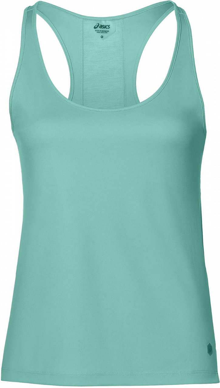 Майка женская Asics Loose Tank, цвет: бирюзовый. 154538-4118. Размер S (44) sexy women s v neck loose fitting cover up