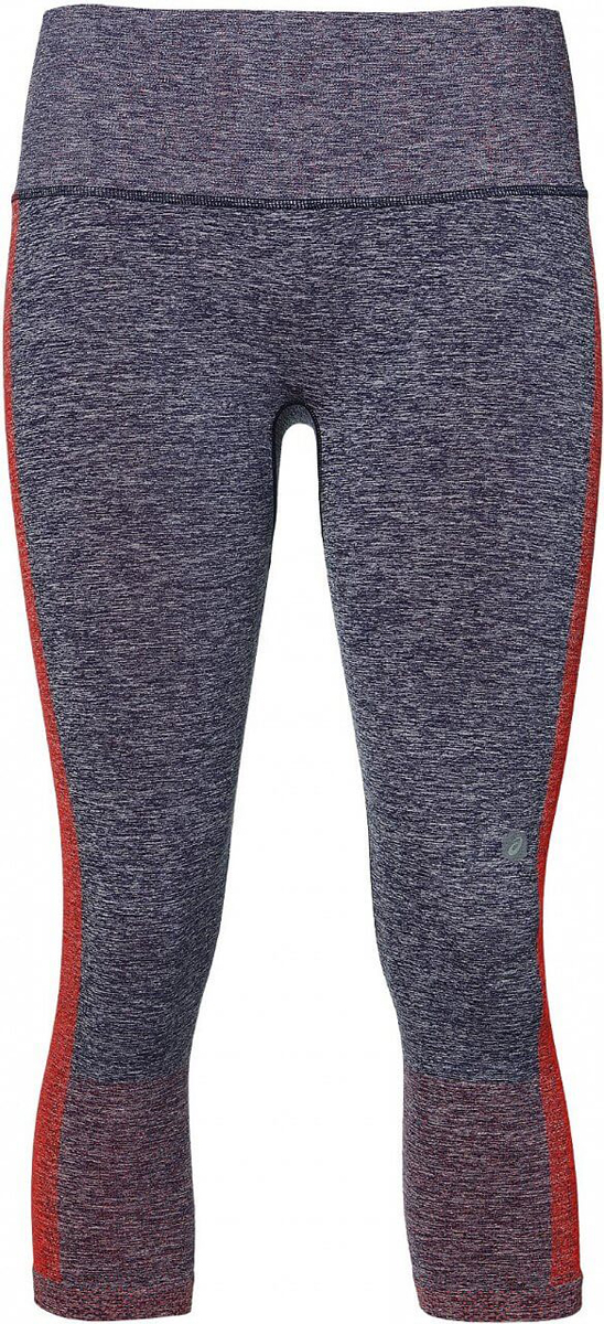 Тайтсы женские Asics Cool Capri, цвет: темно-синий. 154534-0698. Размер S (44) тайтсы asics тайтсы tiger stripe knee tight