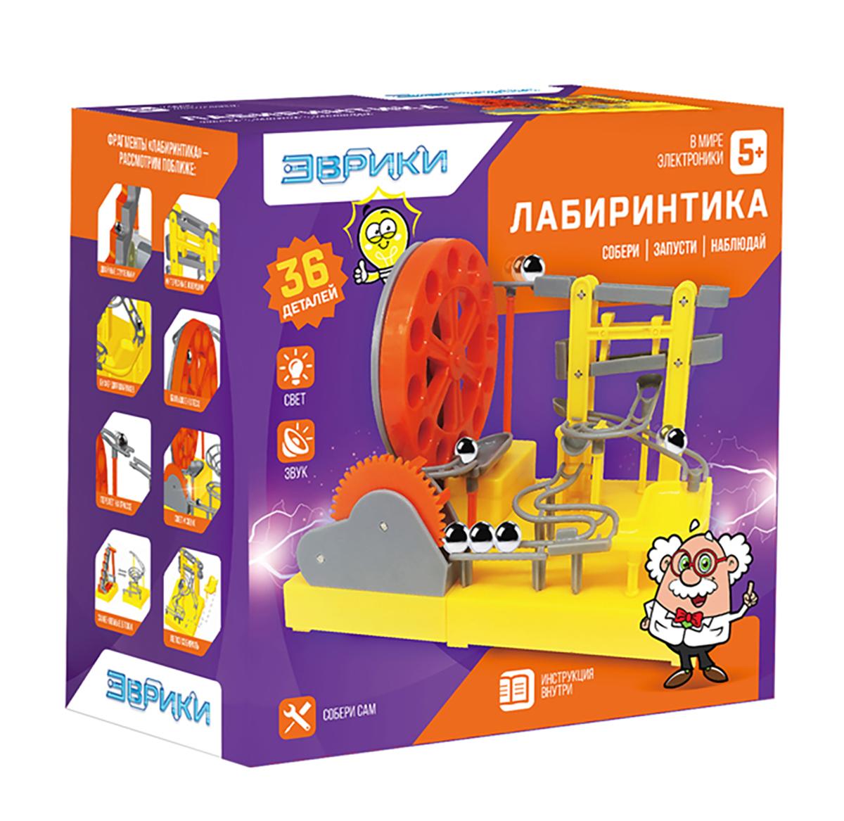 Эврика Электромеханический конструктор Лабиринтика 2457782 - Конструкторы
