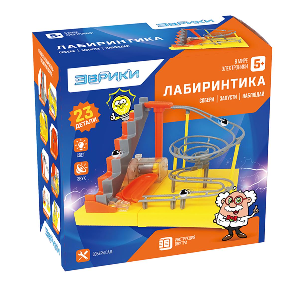 Эврика Электромеханический конструктор Лабиринтика - Конструкторы