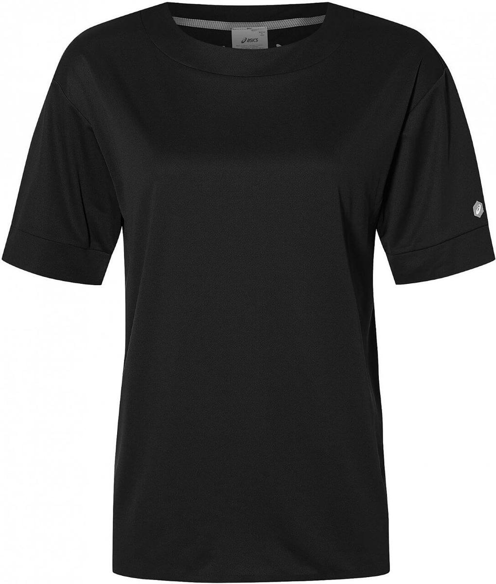 Футболка женская Asics Gel -Cool Ss Top, цвет: черный. 153390-0904. Размер XL (50)