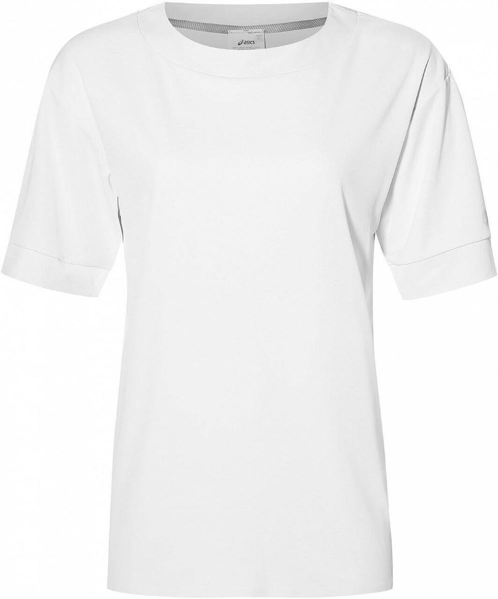 Футболка женская Asics Gel -Cool Ss Top, цвет: белый. 153390-0014. Размер XL (50)