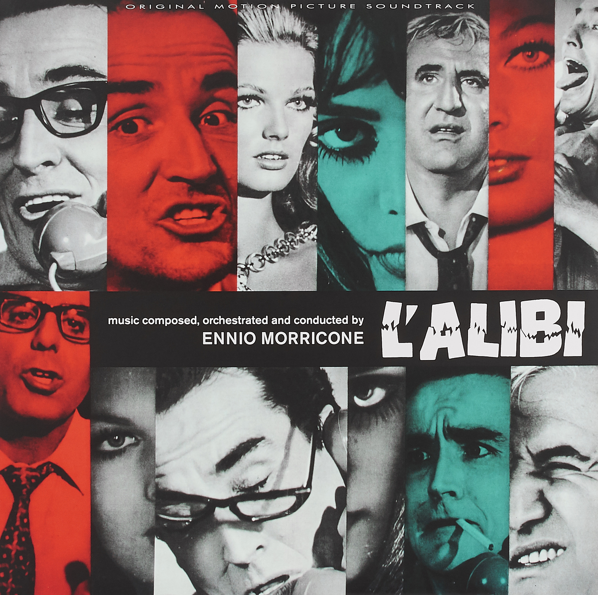 Эннио Морриконе Ennio Morricone. L'Alibi (LP) эннио морриконе ennio morricone i crudeli music from the original motion picture score lp