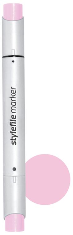 Stylefile Маркер двухсторонний Brush цвет 450 пурпурный бледный stylefile маркер двухсторонний brush цвет 352 красный алый