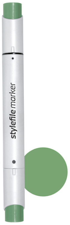 Stylefile Маркер двухсторонний Brush цвет: 632 зеленый оливковый насыщенныйSFBR632Маркеры Stylefile Brush— это профессиональные маркеры со спиртовыми чернилами для дизайнеров, граффити-художников, иллюстраторов. Благодаря эргономичному корпусу маркеры идеально ложатся в руку, ими легко работать. Каждый маркер имеет по два пера: кисть с одной стороны для мелких или детальных работ и широкое скошенное перо для больших площадей закрашивания Основные характеристики:124 оттенка (включая блендер)Круглый корпус2 наконечника: кисть и плоский скошенныйГерметичный колпачок, препятствующий высыханиюДозаправляемые.
