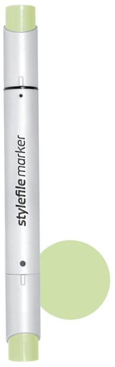Stylefile Маркер двухсторонний Brush цвет: 670 зеленый бледныйSFBR670Маркеры Stylefile Brush— это профессиональные маркеры со спиртовыми чернилами для дизайнеров, граффити-художников, иллюстраторов. Благодаря эргономичному корпусу маркеры идеально ложатся в руку, ими легко работать. Каждый маркер имеет по два пера: кисть с одной стороны для мелких или детальных работ и широкое скошенное перо для больших площадей закрашивания Основные характеристики:124 оттенка (включая блендер)Круглый корпус2 наконечника: кисть и плоский скошенныйГерметичный колпачок, препятствующий высыханиюДозаправляемые.