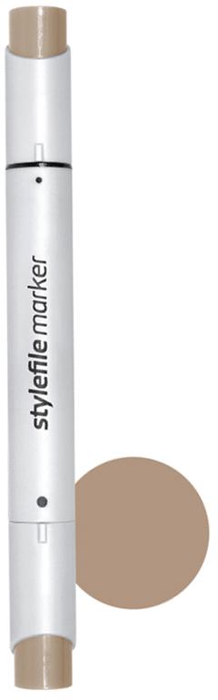 Stylefile Маркер двухсторонний Brush цвет: 800 сиена жженая