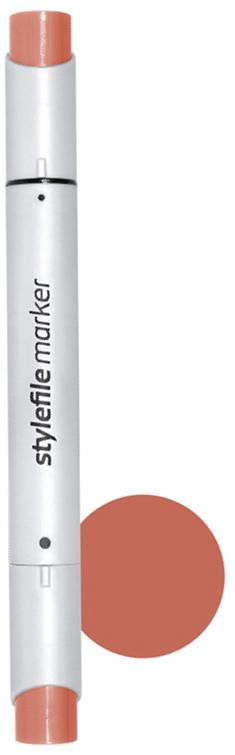 Stylefile Маркер двухсторонний Brush цвет: 810 коричневый кирпичныйSFBR810Маркеры Stylefile Brush— это профессиональные маркеры со спиртовыми чернилами для дизайнеров, граффити-художников, иллюстраторов. Благодаря эргономичному корпусу маркеры идеально ложатся в руку, ими легко работать. Каждый маркер имеет по два пера: кисть с одной стороны для мелких или детальных работ и широкое скошенное перо для больших площадей закрашивания Основные характеристики:124 оттенка (включая блендер)Круглый корпус2 наконечника: кисть и плоский скошенныйГерметичный колпачок, препятствующий высыханиюДозаправляемые.