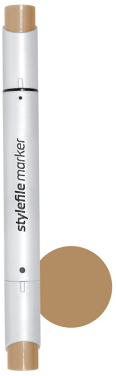 Stylefile Маркер двухсторонний Brush цвет: 812 умбра натуральная stylefile маркер двухсторонний brush цвет 352 красный алый