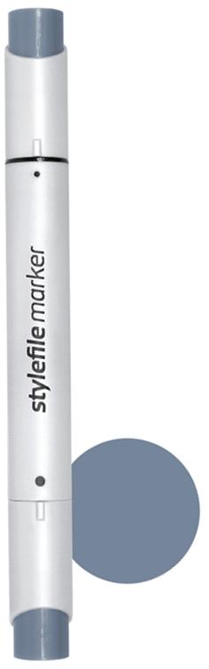 Stylefile Маркер двухсторонний Brush цвет: cg6 серый холодный 6 stylefile маркер двухсторонний classic цвет cg1 серый холодный 1