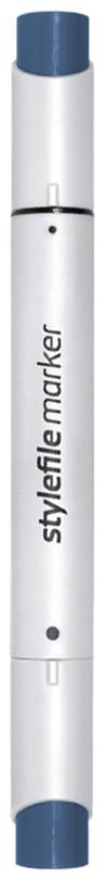 Stylefile Маркер двухсторонний Brush цвет: cg8 серый холодный 8 stylefile маркер двухсторонний classic цвет cg1 серый холодный 1
