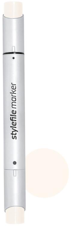 Stylefile Маркер двухсторонний Brush цвет: wg0 серый теплый 0 stylefile маркер двухсторонний brush цвет 352 красный алый