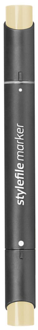 Stylefile Маркер двухсторонний Classic цвет: 112 кремовыйSFM112Маркеры Stylefile Classic со спиртовыми чернилами высочайшего качества специально разработаны для дизайнеров, граффити-художников, иллюстраторов и студентов.Маркеры имеют широкую палитру и эргономичный дизайн, два наконечника – круглый и скошенный. Наконечники изготавливаются по особой технологии в Японии. Основные характеристики:124 оттенка Круглый корпус2 наконечника: круглый тонкий и плоский скошенный Герметичный колпачок, препятствующий высыханиюДозаправляемые