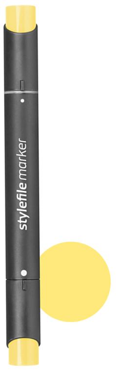 Stylefile Маркер двухсторонний Classic цвет: 156 желтый пастельный - Письменные принадлежности - Маркеры