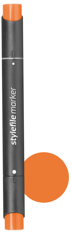 Stylefile Маркер двухсторонний Classic цвет 214 киноварь французская