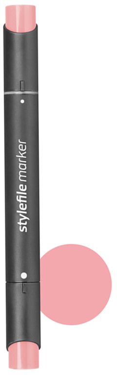 Stylefile Маркер двухсторонний Classic цвет: 316 роза пастельный stylefile маркер двухсторонний classic цвет 452 розовая роза