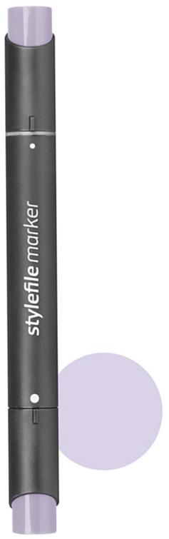 Stylefile Маркер двухсторонний Classic цвет: 414 фиолетовый темный светлый - Письменные принадлежности - Маркеры