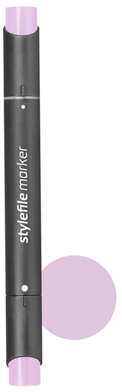 Stylefile Маркер двухсторонний Classic цвет 426 фиолетовый пастельный stylefile маркер двухсторонний classic цвет 452 розовая роза