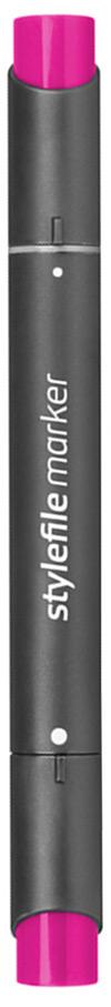 Stylefile Маркер двухсторонний Classic цвет 460 пурпурная азалия stylefile маркер двухсторонний classic цвет ng2 серый нейтральный 2