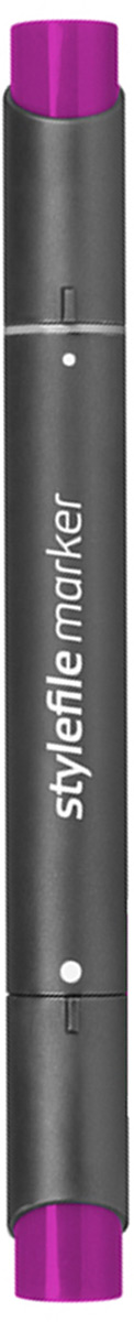 Stylefile Маркер двухсторонний Classic цвет 466 фиолетовый насыщенный stylefile маркер двухсторонний classic цвет ng2 серый нейтральный 2