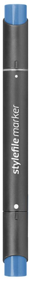 Stylefile Маркер двухсторонний Classic цвет: 550 синий брилиантовыйSFM550Маркеры Stylefile Classic со спиртовыми чернилами высочайшего качества специально разработаны для дизайнеров, граффити-художников, иллюстраторов и студентов.Маркеры имеют широкую палитру и эргономичный дизайн, два наконечника – круглый и скошенный. Наконечники изготавливаются по особой технологии в Японии. Основные характеристики:124 оттенка Круглый корпус2 наконечника: круглый тонкий и плоский скошенный Герметичный колпачок, препятствующий высыханиюДозаправляемые