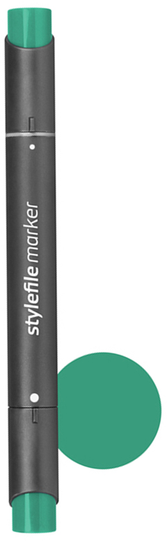 Stylefile Маркер двухсторонний Classic цвет: 644 виридианSFM644Маркеры Stylefile Classic со спиртовыми чернилами высочайшего качества специально разработаны для дизайнеров, граффити-художников, иллюстраторов и студентов.Маркеры имеют широкую палитру и эргономичный дизайн, два наконечника – круглый и скошенный. Наконечники изготавливаются по особой технологии в Японии. Основные характеристики:124 оттенка Круглый корпус2 наконечника: круглый тонкий и плоский скошенный Герметичный колпачок, препятствующий высыханиюДозаправляемые