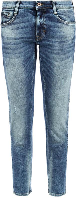 Джинсы мужские Mustang Oregon Tapered, цвет: синий. 1005684-5000-313. Размер 36-32 (52-32) джинсы mustang 1005650 5000 314