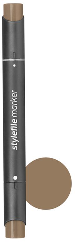 Stylefile Маркер двухсторонний Classic цвет: 802 бронзовый stylefile маркер двухсторонний classic цвет 452 розовая роза