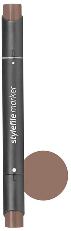 Stylefile Маркер двухсторонний Classic цвет: 804 шоколадныйSFM804Маркеры Stylefile Classic со спиртовыми чернилами высочайшего качества специально разработаны для дизайнеров, граффити-художников, иллюстраторов и студентов.Маркеры имеют широкую палитру и эргономичный дизайн, два наконечника – круглый и скошенный. Наконечники изготавливаются по особой технологии в Японии. Основные характеристики:124 оттенка Круглый корпус2 наконечника: круглый тонкий и плоский скошенный Герметичный колпачок, препятствующий высыханиюДозаправляемые