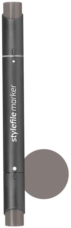 Stylefile Маркер двухсторонний Classic цвет: wg7 серый теплый 7SFMWG7Маркеры Stylefile Classic со спиртовыми чернилами высочайшего качества специально разработаны для дизайнеров, граффити-художников, иллюстраторов и студентов.Маркеры имеют широкую палитру и эргономичный дизайн, два наконечника – круглый и скошенный. Наконечники изготавливаются по особой технологии в Японии. Основные характеристики:124 оттенка Круглый корпус2 наконечника: круглый тонкий и плоский скошенный Герметичный колпачок, препятствующий высыханиюДозаправляемые