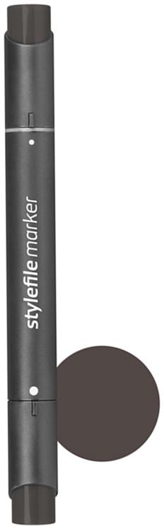 Stylefile Маркер двухсторонний Classic цвет: wg9 серый теплый 9 stylefile маркер двухсторонний classic цвет cg1 серый холодный 1