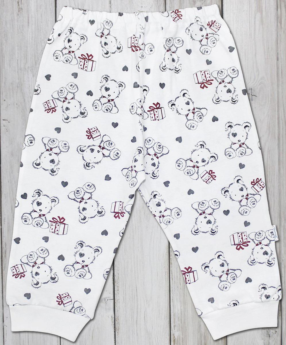 Штанишки для мальчика Веселый малыш One, цвет: светло-бежевый. 33170/one-F (1)_дружок. Размер 86 брюки джинсы и штанишки веселый малыш штанишки мото