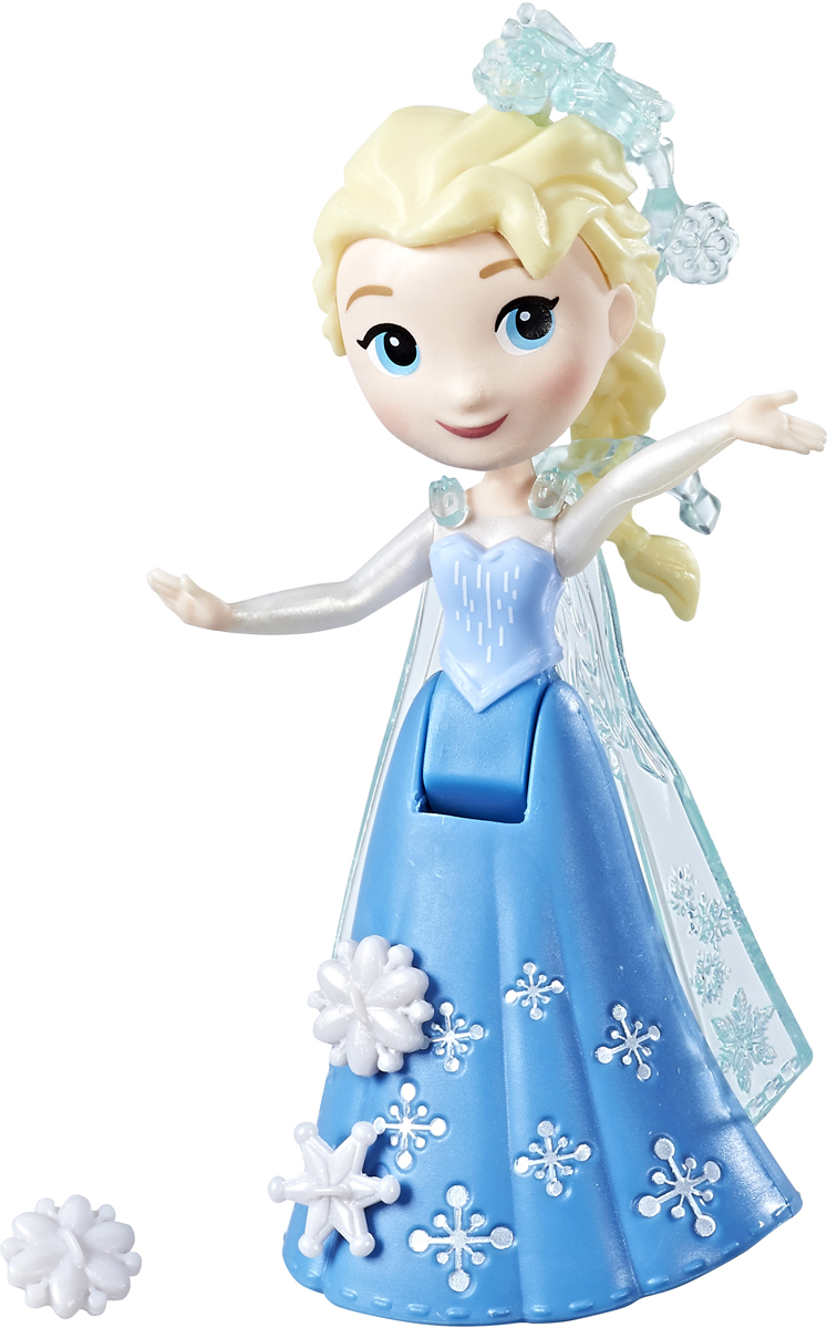 Disney Frozen Мини-кукла Эльза C1096_E0205 disney frozen princess elsa hooded bath poncho