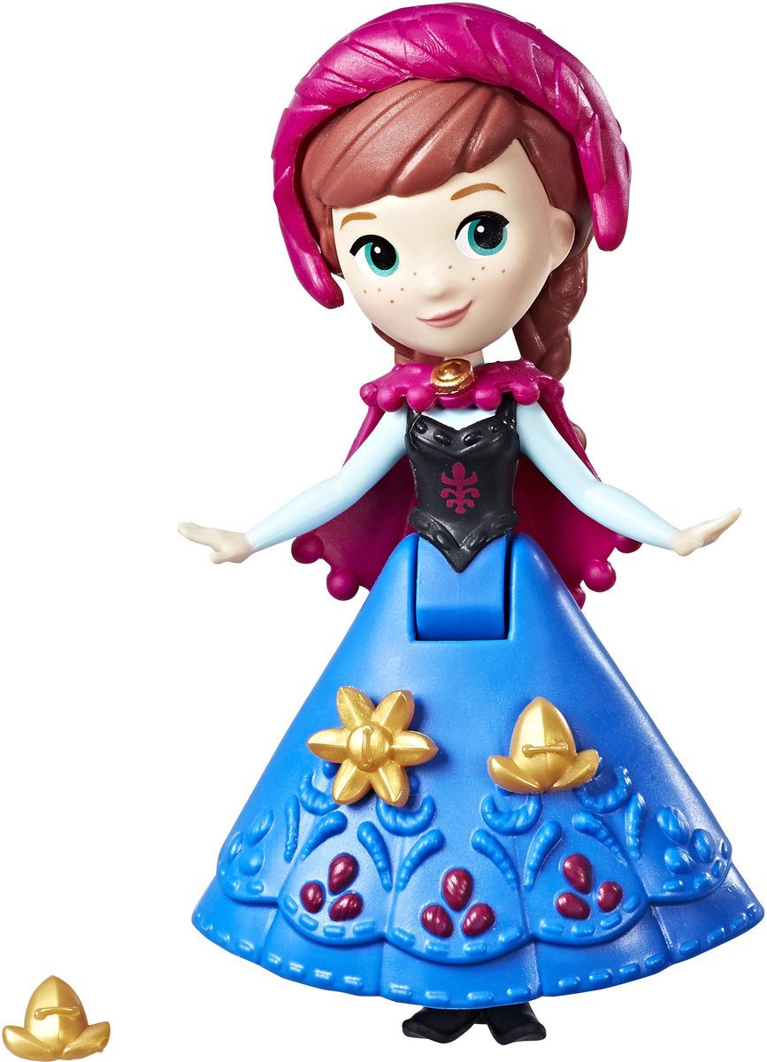 Disney Frozen Мини-кукла Анна C1096_E0210 пазл disney frozen 3d 240
