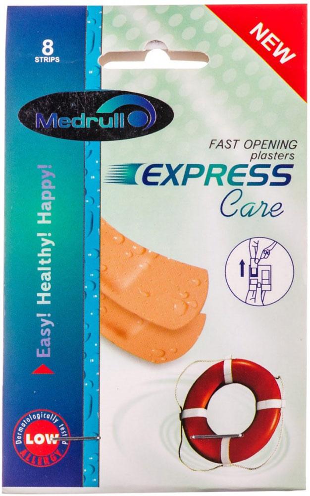 Medrull Набор пластырей Express Care, №84742225003331Пластыри Express Care упакованы в удобную, тонкую упаковку с оптимальной возможностью открыть и наклеить пластырь в минимально короткое время. Не займет в Вашей сумочке много места, а также выручит Вас в любой непредвиденной ситуации. Именно поэтому, эти пластыри будут незаменимы в дороге и во время путешествий. Пластыри изготовлены из тонкого, перфорированного, полимерного материала. Свойства пластыря: Водонепроницаемый; Грязенепроницаемый; Гипоаллергенный; Эластичный; Дышыщий; Плотно прилегающий. Абсорбирующая подушечка обладает высокой впитываемостью. Изготовлена из вискозы. Верхняя часть подушечки обработана полипропиленом, , что защищает от вероятности прилипания пластыря к поврежденной поверхности кожи.Уважаемые клиенты! Обращаем ваше внимание на то, что упаковка может иметь несколько видов дизайна. Поставка осуществляется в зависимости от наличия на складе.