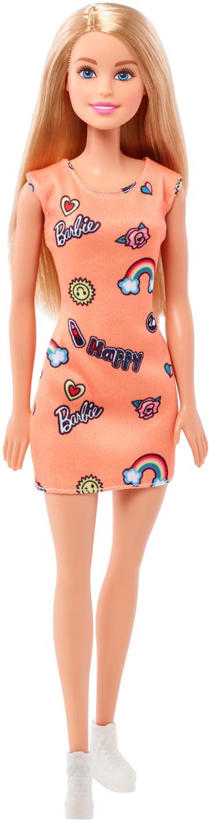 Barbie Кукла цвет платья оранжевый yako кукла софи цвет платья бордовый