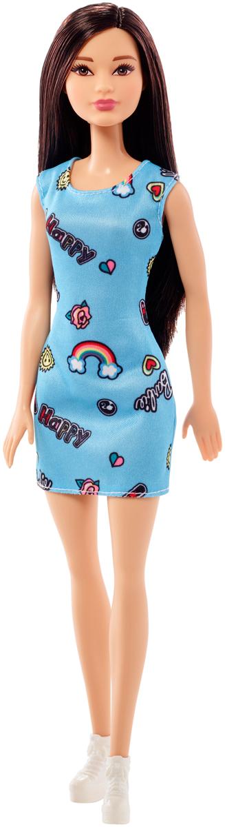 Barbie Кукла цвет платья голубой yako кукла софи цвет платья бордовый
